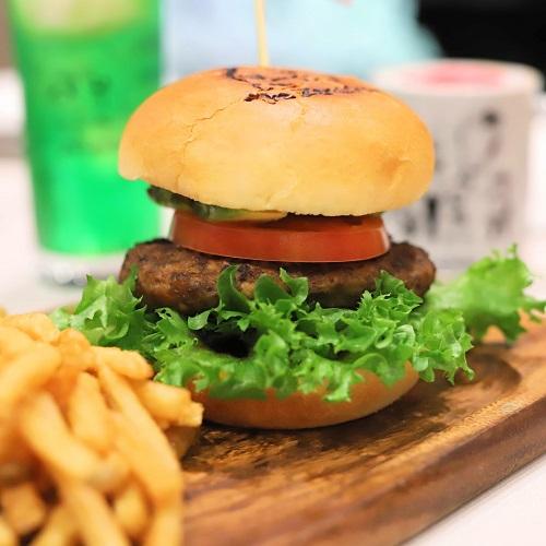 ゼメキスカフェ ハンバーガー
