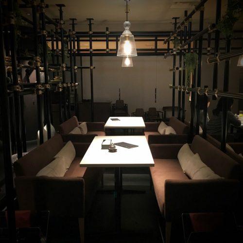 いちょう坂(品川プリンスホテル)のビュッフェ|アート空間席