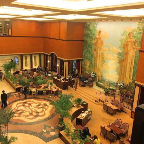 一休掲載|エトワール(第一ホテル東京ホテル)のビュッフェ|ロビー