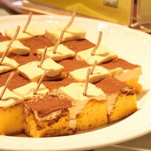 リラッサ(東京ドームホテル)のビュッフェ|キャラメルパンプキンケーキ