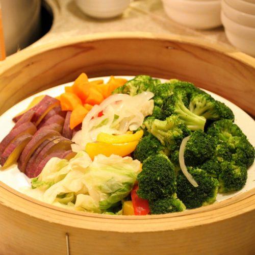 リラッサ(東京ドームホテル)のビュッフェ|温野菜