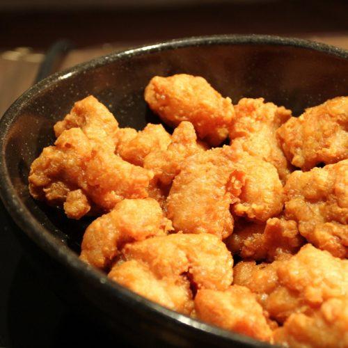 いちょう坂(品川プリンスホテル)のビュッフェ|鶏唐揚げ