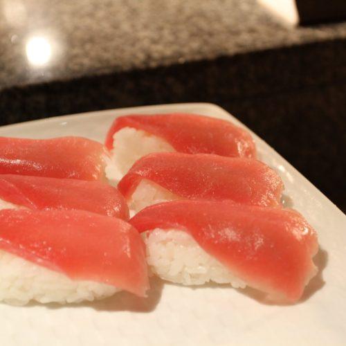 いちょう坂(品川プリンスホテル)のビュッフェ|鮪寿司