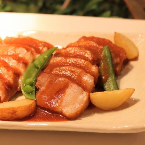 一休掲載|エトワール(第一ホテル東京ホテル)のビュッフェ|和豚もち豚のブレゼ味噌風味