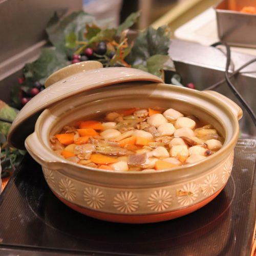 一休掲載|エトワール(第一ホテル東京ホテル)のビュッフェ|けんちん鍋