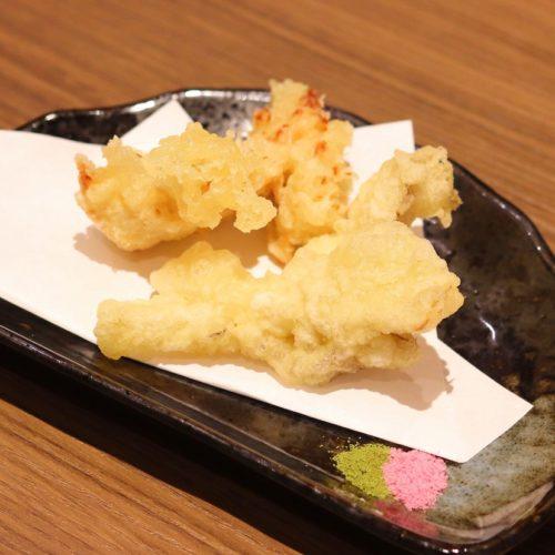 一休掲載|エトワール(第一ホテル東京ホテル)のビュッフェ|舞茸天と鶏天の二種盛り