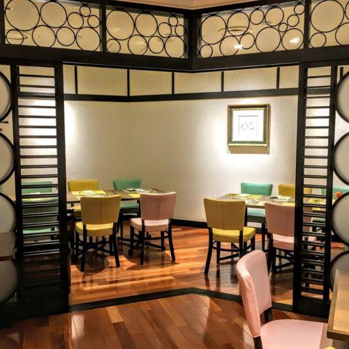 一休掲載|エトワール(第一ホテル東京ホテル)のビュッフェ|半個室1