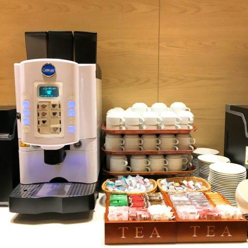 一休掲載|エトワール(第一ホテル東京ホテル)のビュッフェ|コーヒーマシーン