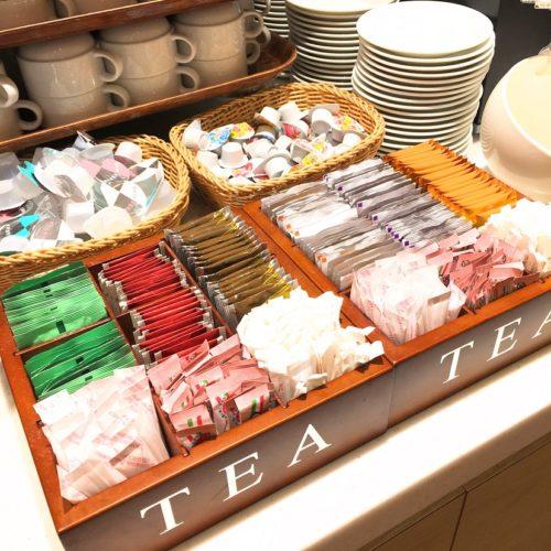 一休掲載|エトワール(第一ホテル東京ホテル)のビュッフェ|紅茶