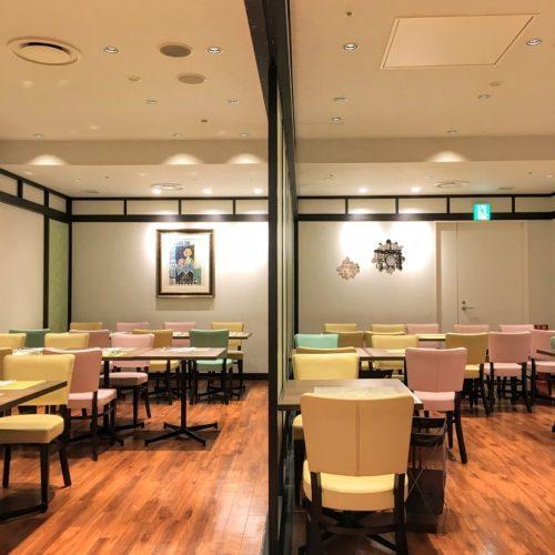 一休掲載|エトワール(第一ホテル東京ホテル)のビュッフェ|半個室3