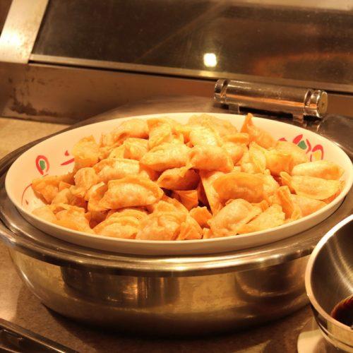 リラッサ(東京ドームホテル)のビュッフェ|揚げ餃子