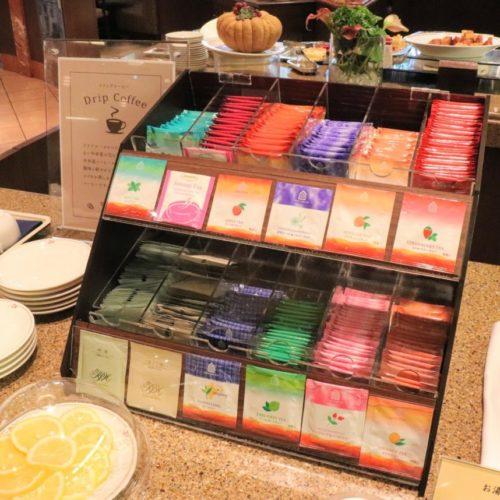 一休掲載|シンフォニー(ロイヤルパークホテル)のビュッフェ|紅茶