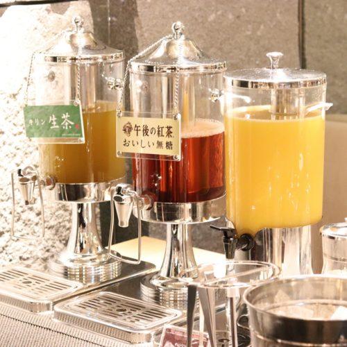 いちょう坂(品川プリンスホテル)のビュッフェ|コールドドリンク