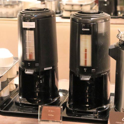 いちょう坂(品川プリンスホテル)のビュッフェ|ホットコーヒー