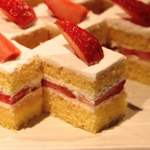 いちょう坂(品川プリンスホテル)のビュッフェ|ショートケーキ