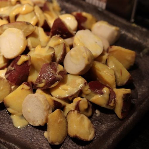 いちょう坂(品川プリンスホテル)のビュッフェ|里芋とさつま芋の柚子味噌掛け