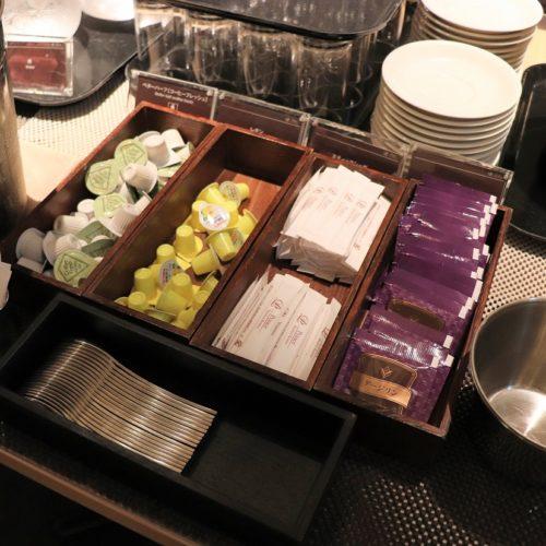 いちょう坂(品川プリンスホテル)のビュッフェ|紅茶