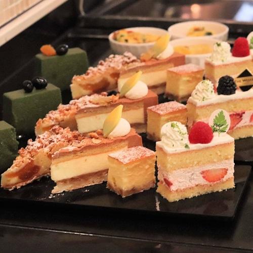 ザテラス|ウェスティンホテル東京のランチブッフェ デザート