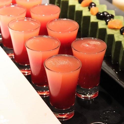 ザテラス|ウェスティンホテル東京のランチブッフェ ラズベリーゼリー