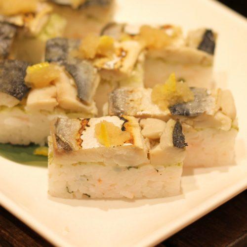 一休掲載|エトワール(第一ホテル東京ホテル)のビュッフェ|焼き鯖寿司
