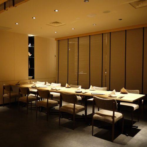 いちょう坂(品川プリンスホテル)のビュッフェ|半個室2