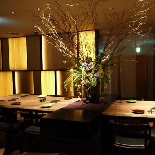 いちょう坂(品川プリンスホテル)のビュッフェ|8名席