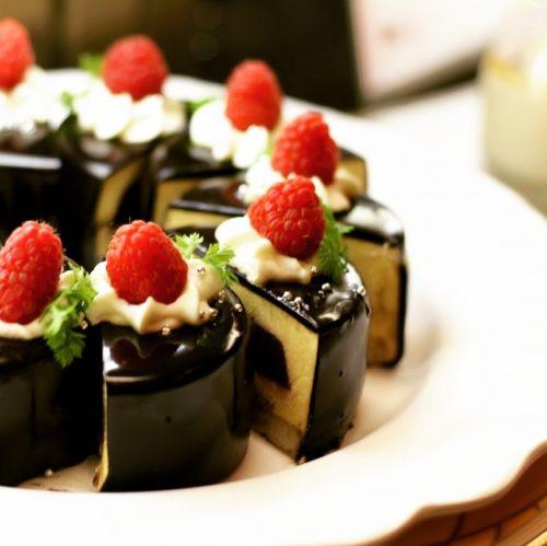 一休掲載|クロスダイン(ホテルメトロポリタン)のビュッフェ|ムースケーキ