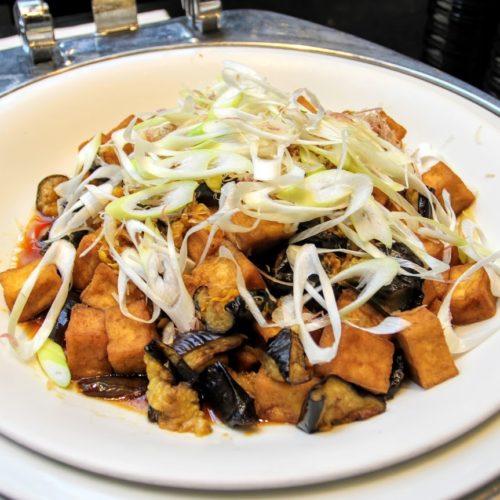 ハプナ(品川プリンスホテル)のビュッフェの揚げ豆腐