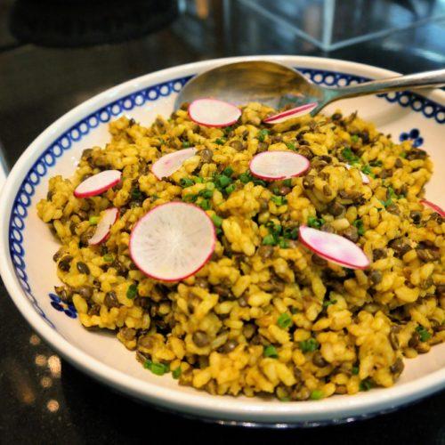 一休掲載|ヴェンタリオ(マンダリンオリエンタル東京)のビュッフェ| レンズ豆とお米のサラダ
