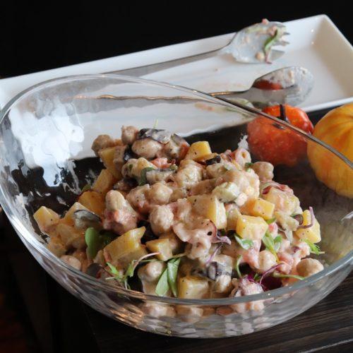 一休掲載|sky(三井ガーデンホテル銀座プレミア)のビュッフェ|蛸と豆とインカの目覚め