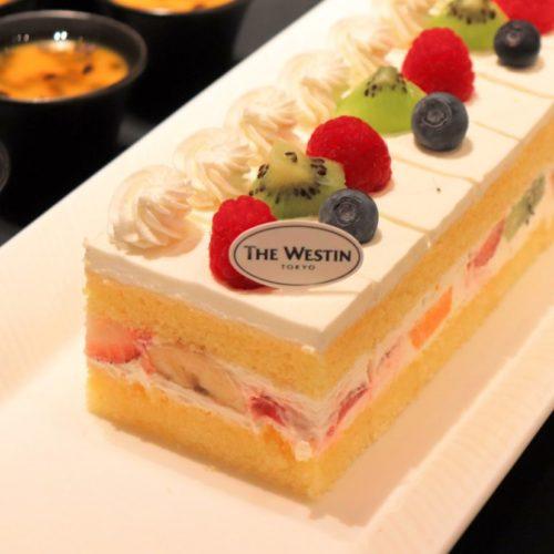 ザ・テラス(ウェスティンホテル東京)のビュッフェ ショートケーキ