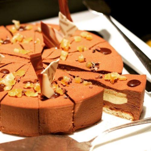 ザ・テラス(ウェスティンホテル東京)のビュッフェ チョコレートケーキ