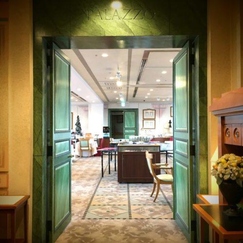 パラッツオ(ロイヤルパークホテル)のビュッフェの店舗エントランス