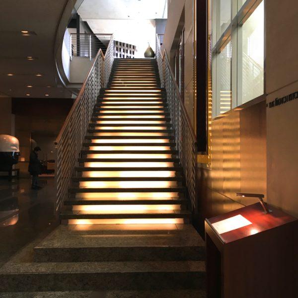 フレンチキッチン(グランドハイアット東京)のビュッフェの階段