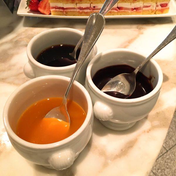 フレンチキッチン(グランドハイアット東京)のビュッフェのジャム各種