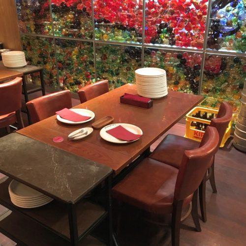 リオグランデグリル六本木店の席2