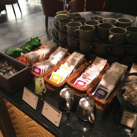 ザクロ(グランドプリンスホテル新高輪)のビュッフェの紅茶