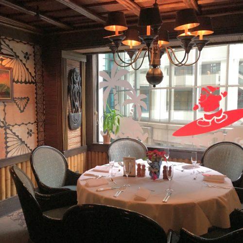 トレーダーヴィックス(ホテルニューオータニ)のビュッフェの席5