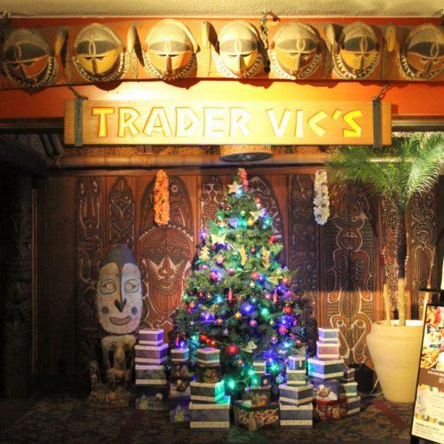 トレーダーヴィックス(ホテルニューオータニ)のビュッフェのレストランの入口