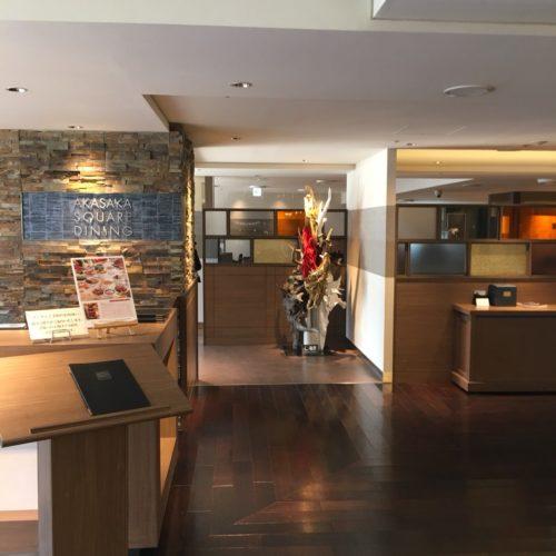 スクエアダイニング(エクセルホテル東急)のビュッフェのレストランの入口