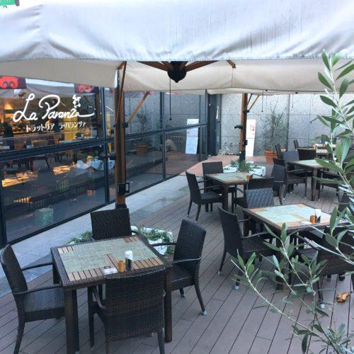 ラパランツァ(第一ホテルアネックス)のビュッフェの席4