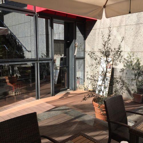 ラパランツァ(第一ホテルアネックス)のビュッフェの外からの入口