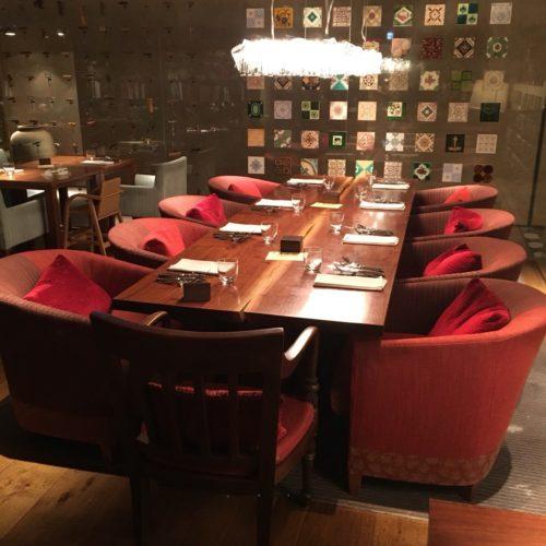 カフェ(ハイアットリージェンシー東京)のビュッフェの席6