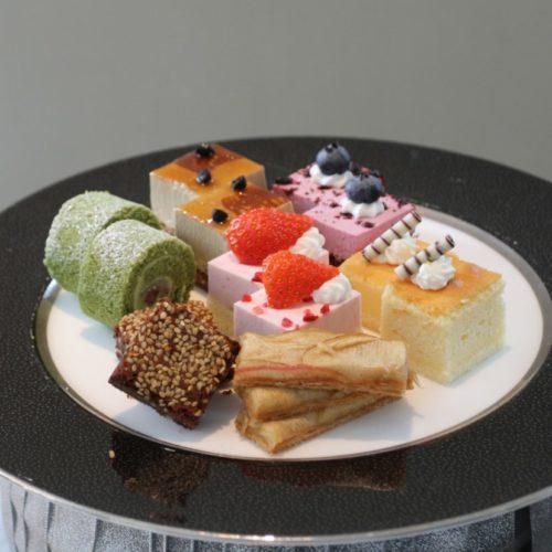 おんぼらあと(ハイアットリージェンシー東京)のビュッフェのケーキ