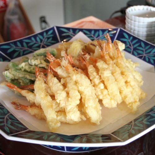 おんぼらあと(ハイアットリージェンシー東京)のビュッフェの天ぷら2