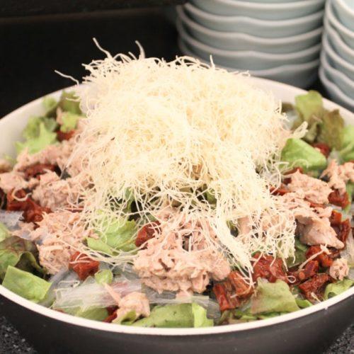 おんぼらあと(ハイアットリージェンシー東京)のビュッフェのサラダ