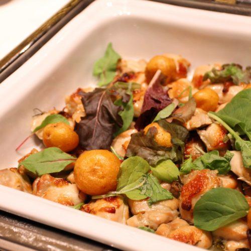 ベルテンポ(ホテルメトロポリタンエドモント)のビュッフェの鶏肉のロースト