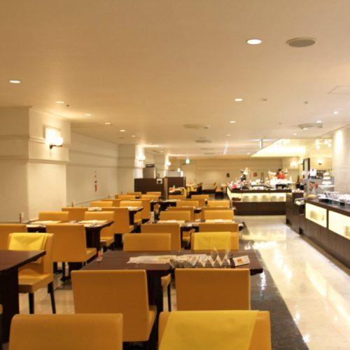 バイエルン(サンシャインシティプリンスホテル)のビュッフェの席1