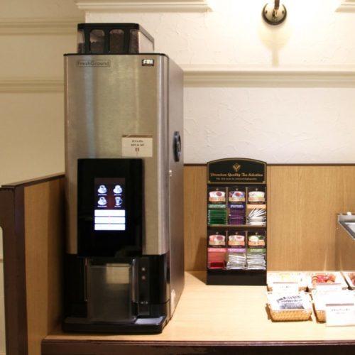 バイエルン(サンシャインシティプリンスホテル)のビュッフェのコーヒーマシーン