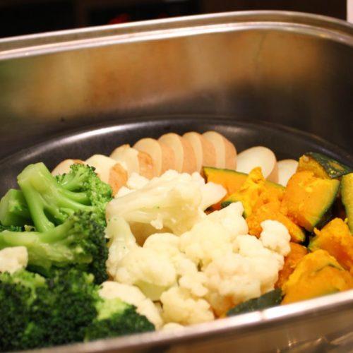 バイエルン(サンシャインシティプリンスホテル)のビュッフェの温野菜
